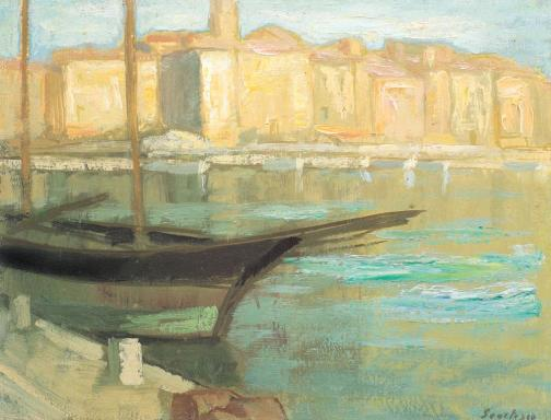Paul Scorţescu - Port din Saint-Tropez