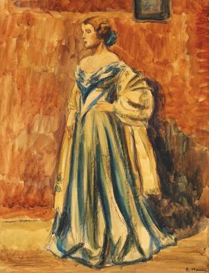 Rodica Maniu Mutzner - Rochia de bal