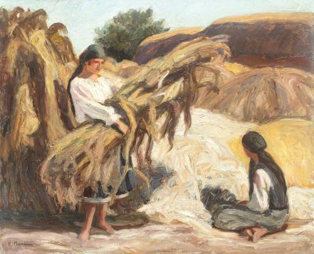 Rodica Maniu Mutzner - Strânsul porumbului