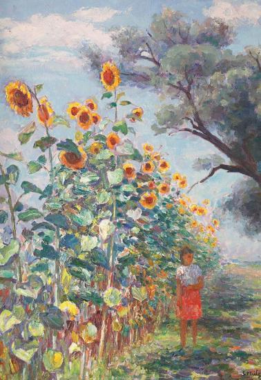 Samuel Mützner - A crescut floarea-soarelui