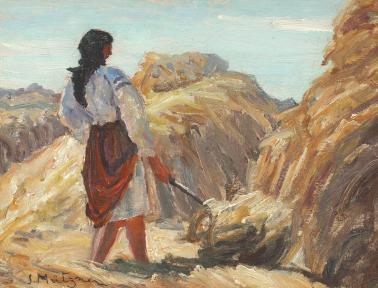 Samuel Mützner - Întoarcerea fânului