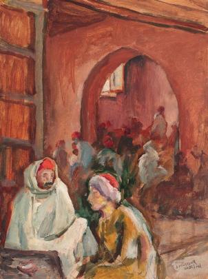 Samuel Mützner - Cafenea din Gabes