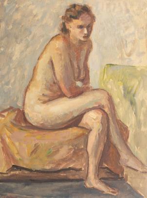 Samuel Mützner - Nud în atelier