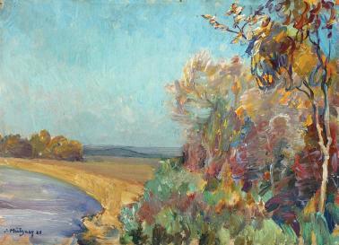 Samuel Mützner - Peisaj de amiază