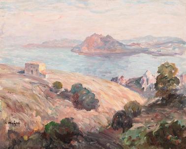 Samuel Mützner - Peisaj din Corsica (Ajaccio)