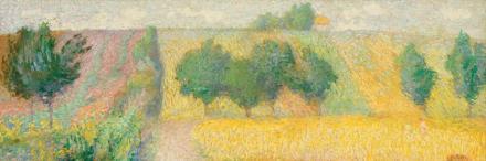 Samuel Mützner - Peisaj din Giverny