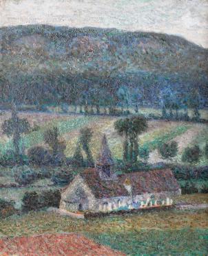 Samuel Mützner - Peisaj din Giverny.