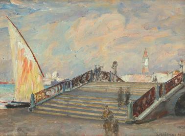 Samuel Mützner - Pod la Veneţia