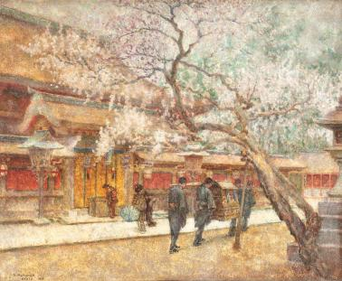 Samuel Mützner - Primăvară la Kyoto.