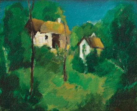 Vasile Popescu - Case pe Valea Prahovei