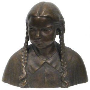 Constantin Baraschi - Mrs.nona Osiceanu's Portrait