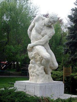 Dimitrie Paciurea - Statuia Gigant de Dimitrie Paciurea expusă în Parcul Carol din București